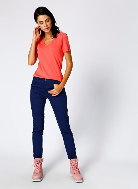 T-Box Slim Fit Pantolon Lacivert